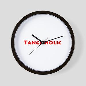 Tangoholic Wall Clock