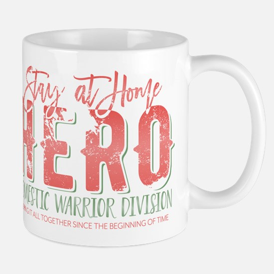 Stay At Home Hero Mugs