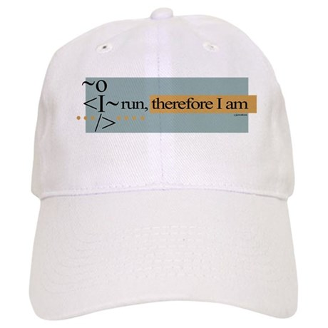 I run, therefore I am Cap