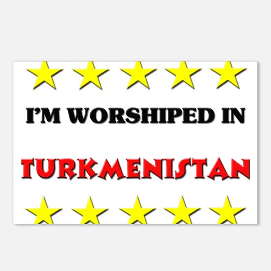 I'm Worshiped In Turkmenistan Postcards (Package o