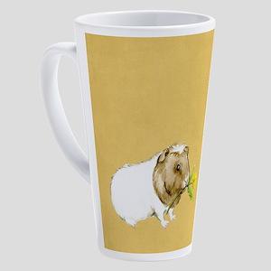 Watercolor Guinea Pig II 17 oz Latte Mug