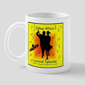 Carnival Splendor Salsas 49'ers Mug