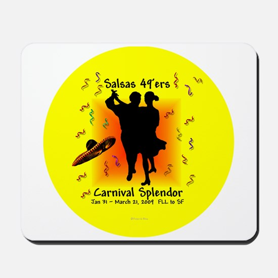 Carnival Splendor Salsas 49'ers Mousepad