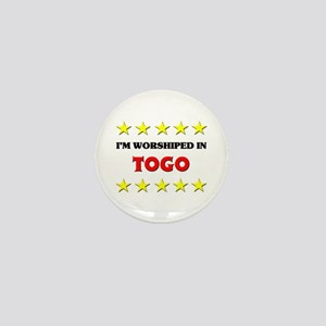 I'm Worshiped In Togo Mini Button