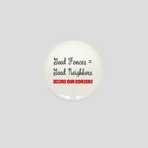 Anti Illegal Immigration Mini Button