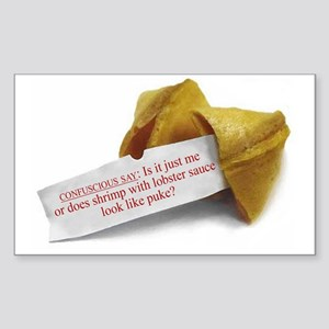 CONFUSCIOUS SAY: FORTUNE COOKIE - Sticker