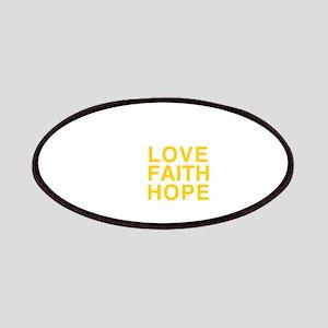 Love Faith Hope Patch