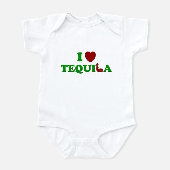 TEQUILA SHIRT I LOVE TEQUILA  Infant Bodysuit