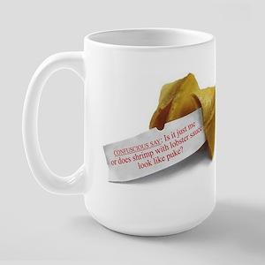 CONFUSCIOUS SAY FORTUNE - Large Mug