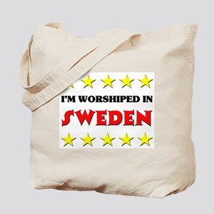 I'm Worshiped In Sweden Tote Bag