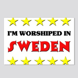 I'm Worshiped In Sweden Postcards (Package of 8)