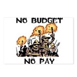 No Budget, No Pay Postcards (Package of 8)