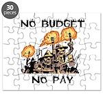 No Budget, No Pay Puzzle