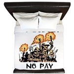 No Budget, No Pay King Duvet