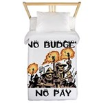 No Budget, No Pay Twin Duvet Cover