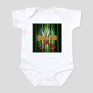 gotta run Infant Bodysuit