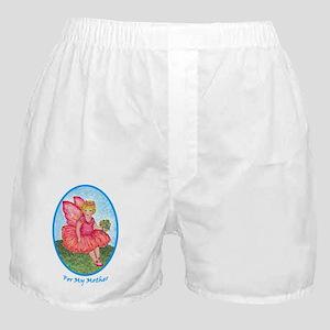 Little Rose Fairy Girl for Mother Boxer Shorts