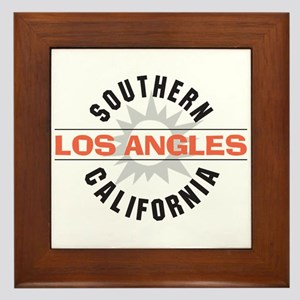 Los Angeles Framed Tile