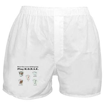 H.O.R.S.E. Rules Poker! Boxer Shorts