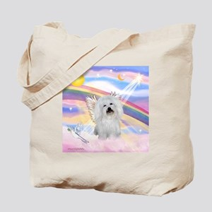 Clouds & Coton De Tulear Tote Bag
