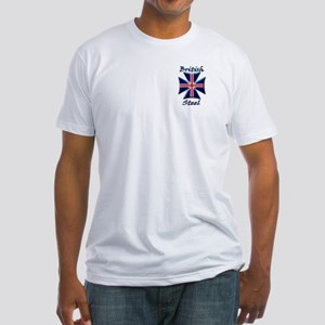 British Steel Maltese Cross Fitted T-Shirt