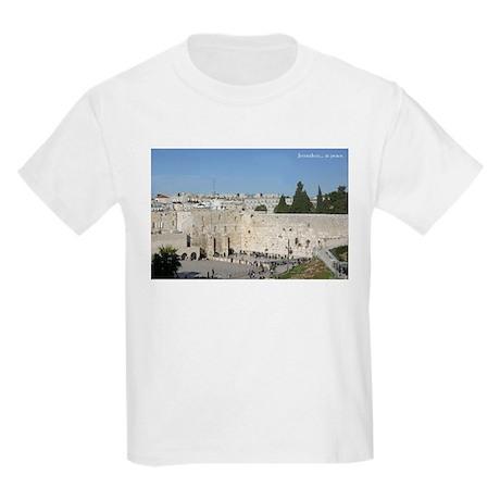 Jerusalem at Peace Kids T-Shirt