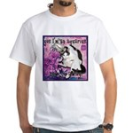 Cat Aquarius White T-Shirt