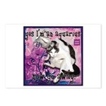 Cat Aquarius Postcards (Package of 8)