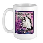 Cat Aquarius Large Mug