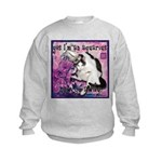 Cat Aquarius Kids Sweatshirt