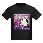 Cat Aquarius Kids Dark T-Shirt