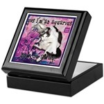 Cat Aquarius Keepsake Box
