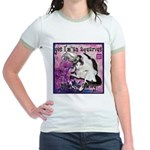 Cat Aquarius Jr. Ringer T-Shirt