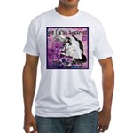 Cat Aquarius Fitted T-Shirt