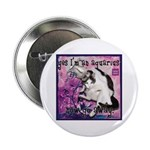 "Cat Aquarius 2.25"" Button"