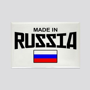 Made in Russia Rectangle Magnet