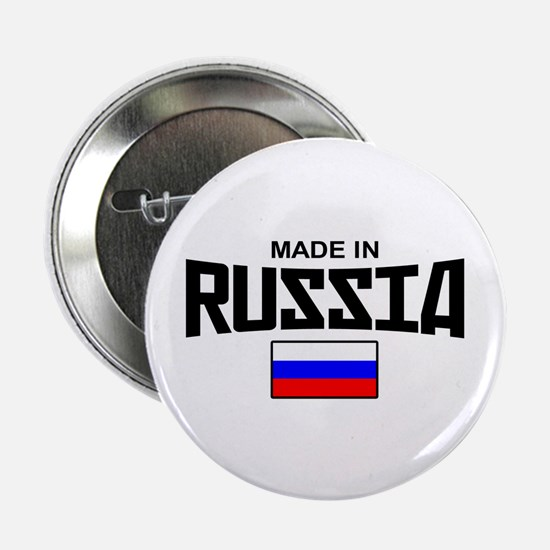 "Made in Russia 2.25"" Button"