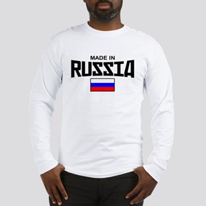 Made in Russia Long Sleeve T-Shirt
