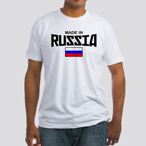 Made in Russia Fitted T-Shirt