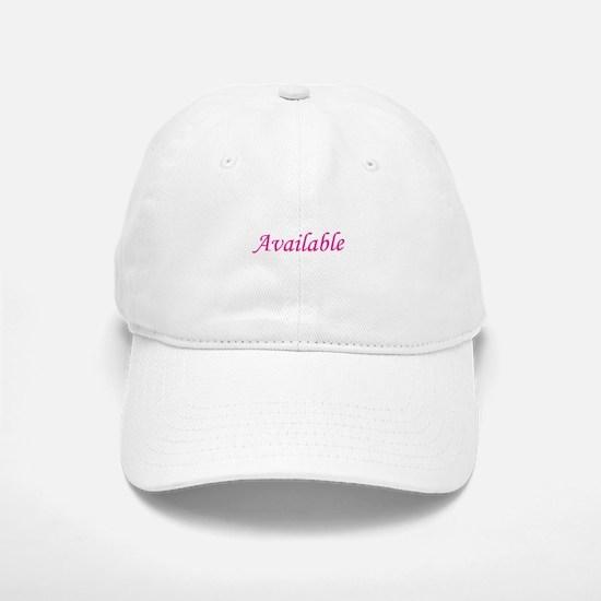 Available Baseball Baseball Cap
