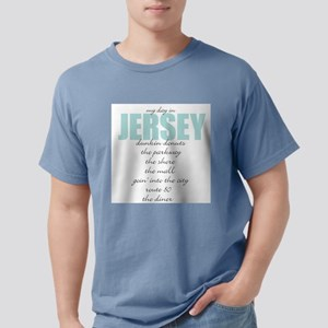 My Day in Jersey Ash Grey T-Shirt