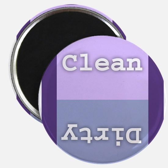 """Clean/Dirty Dishwasher 2"""" x 3"""" Magnets"""