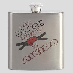 I am Black Belt in Aikido Flask