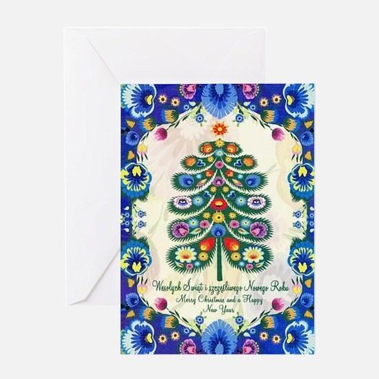 Cute Wesolych swiat Greeting Card