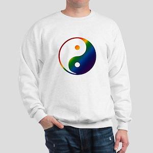 Gay Yin and Yang Sweatshirt