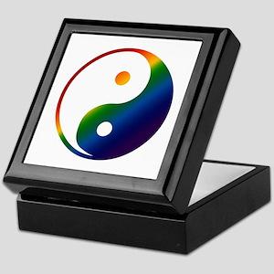 Gay Yin and Yang Keepsake Box