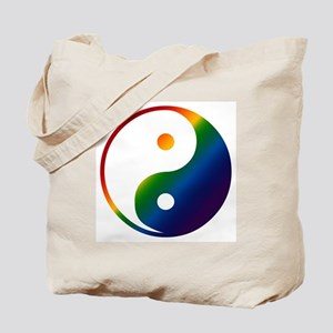 Gay Yin and Yang Tote Bag