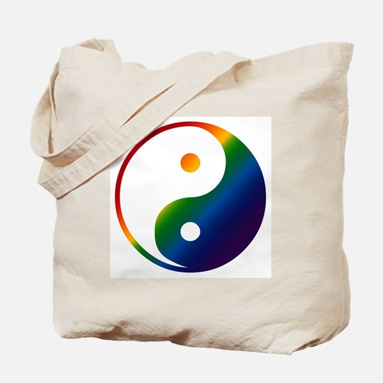 Gay Yin and Yang Tote Bag