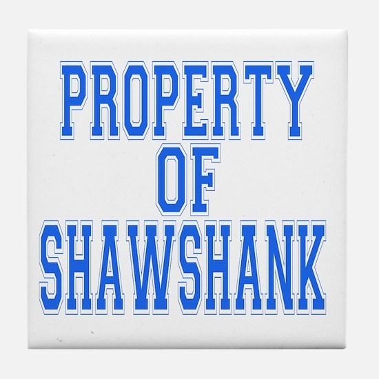 Property of Shawshank Tile Coaster