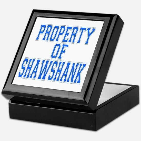 Property of Shawshank Keepsake Box